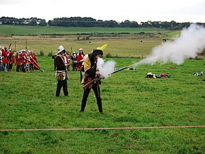 Battle of Blore Heath - Re-enactors of the Battle in 2007