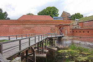 Dömitz Fortress - Image: Baudenkmal Festung Dömitz IMG 8912