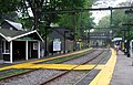 Beaconsfield station facing outbound, May 2012.JPG