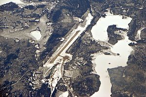 Bearskin Lake Airport - Image: Bearskin Lake Airport