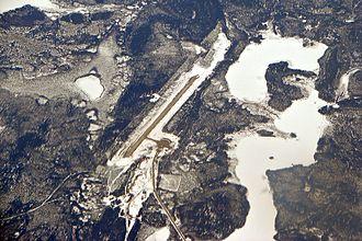 Bearskin Lake Airport - Image: Bearskin Lake Airport