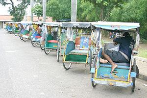 Becak Bogor