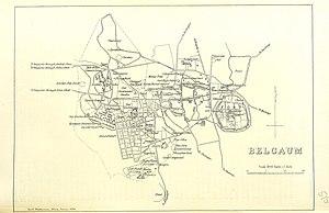 Belgaum - Belgaum city 1896