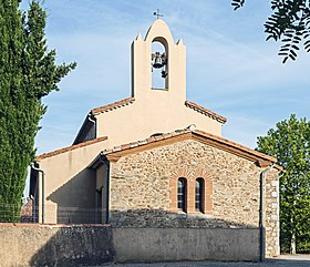 Belleserre - Eglise Saint-Pierre - Le clocher-mur.jpg