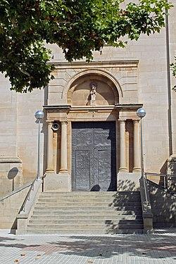 Bellvís Església Parroquial Entrada.jpg