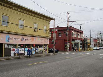 Belmont, Portland, Oregon - Shops on Belmont Street