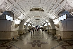 Belorusskaya station Interior.jpg