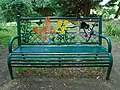 Bench in Cedars Park, Cheshunt.jpg