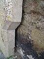 Benchmark at junction of Rhes Segontiwm ^ Stryd Garnon, Caernarfon - geograph.org.uk - 2056334.jpg