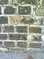 Benchmark on wall overlooking Priory Station - geograph.org.uk - 2027624.jpg