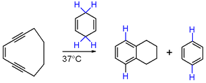 Bergman cyclization - Scheme 2. Bergman reaction of cyclodeca-3-ene-1,5-diyne