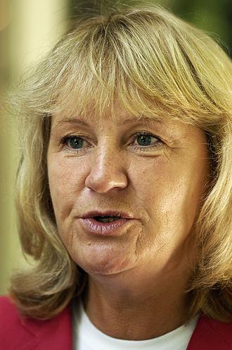 Minister for Social Security (Sweden) - Image: Berit Andnor, Sveriges socialminister och nordisk samarbetsminister