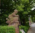Berlin-Baumschulenweg Köpenicker Landstraße - Puttenskulpturen (3).JPG