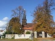 Berlin-Blankenfelde church from south