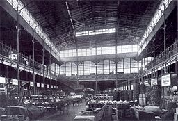 Centralmarkthalle  Hermann Rückwardt  [Public domain], via Wikimedia Commons