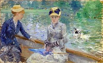Cerulean - Berthe Morisot, Summer's Day, 1879