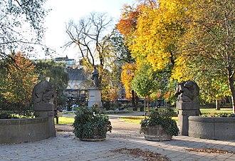 Berzelii Park - Image: Berzelii park entrance 2