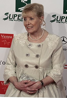 Betty Williams tijdens de Women's World Awards in 2009