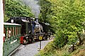 Betws Garmon, train nearing Glan-yr-afon viaduct - geograph.org.uk - 88371.jpg