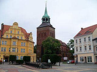 Białogard Place in West Pomeranian Voivodeship, Poland