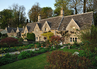 Bibury - Bibury cottages.