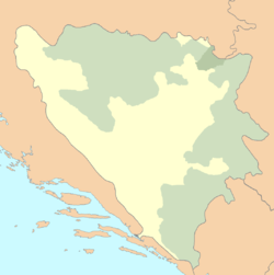 Croats of Bosnia and Herzegovina is located in Bosnia and Herzegovina