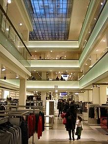 De bijenkorf warenhuis wikipedia for Interieur winkel amsterdam