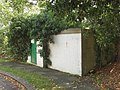 Bike shed, former air raid wardens' lookout, Ealing Village - geograph.org.uk - 251540.jpg