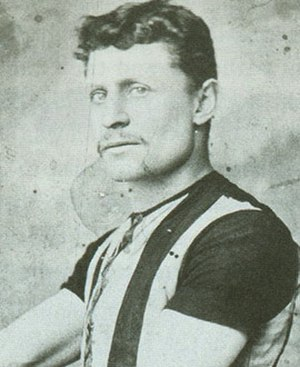 Bill Strickland (footballer, born 1864) - Strickland during his Collingwood VFA career