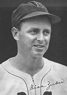 Bill Zuber American baseball pitcher