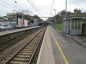 Billericay railway station - Image: Billericay railway station, Essex geograph 3424593 by Nigel Thompson