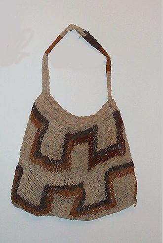 Bilum - A bilum string bag from Papua New Guinea.