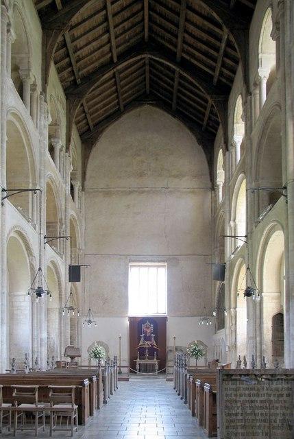 Binham Priory Interior 01