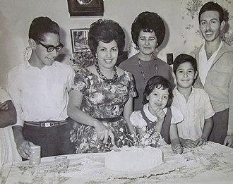 Venezuelans - Family in 1961.
