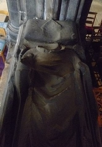 Robert Wishart - Wishart's defaced effigy