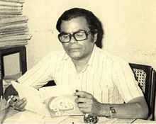 Biswajit at his work place.jpg