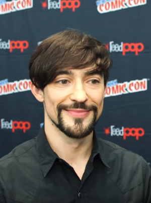 Blake Ritson - Blake Ritson at New York Comic-Con (2014)