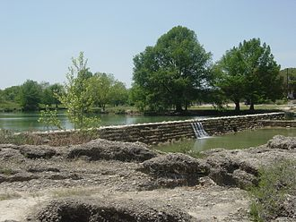 Blanco River (Texas) - The Blanco River near Blanco, Texas.