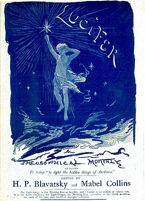 Is Theosophy a Religion? - Cover of the magazine ''Lucifer''