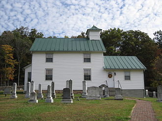 Bloomery, Hampshire County, West Virginia - Bloomery Presbyterian Church