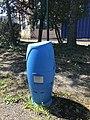 Blue fire hydrant - Reyrieux, Ain, France - 3.JPG