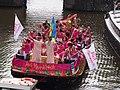 Boat 22 Pink Marrakech, Canal Parade Amsterdam 2017 foto12.JPG