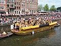 Boat 40 HVO-Querido, opvang, woonbegeleiding, dagactiviteiten, Canal Parade Amsterdam 2017 foto 2.JPG