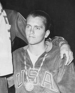 Bob Bennett (swimmer) American swimmer, Olympic bronze medalist, former world record-holder