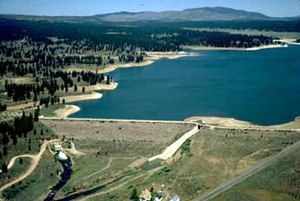 Boca Reservoir - Boca Dam and Reservoir