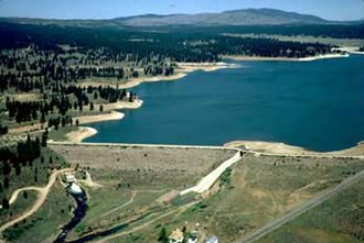 National Register of Historic Places listings in Nevada County, California - Image: Boca Dam
