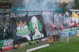 Bohemians 1905 - Bohemian Supporters in September 2017