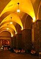 Bologna (BO), Portico in Piazza Maggiore (2), notturno.jpg