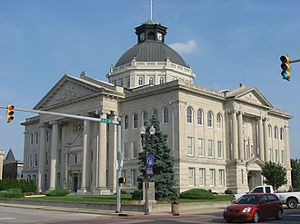 Government of Indiana - Boone County Courthouse