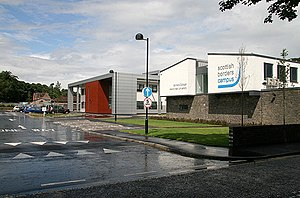 Borders College - Image: Borders College Scottish Borders Campus in Galashiels geograph.org.uk 1398681